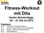 Fitness-Workout mit Dita 3-2016
